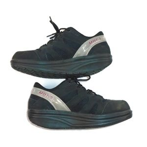 MBT Rocker Walking Toning Sneaker Black M 8 / W 10